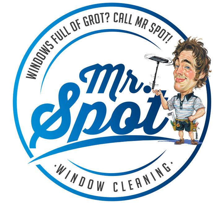 Mr Spot Cartoon Logo